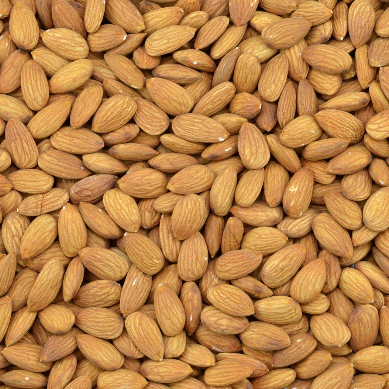 Biologische bruine amandelen (raw)