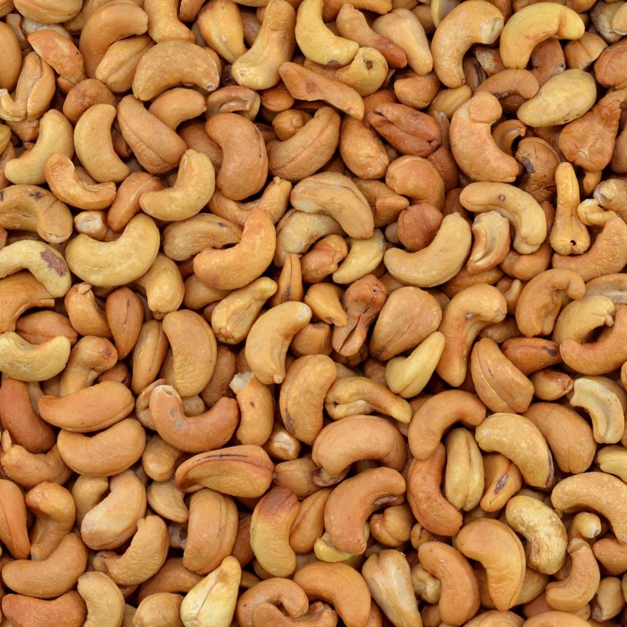 Biologische cashewnoten (geroosterd)