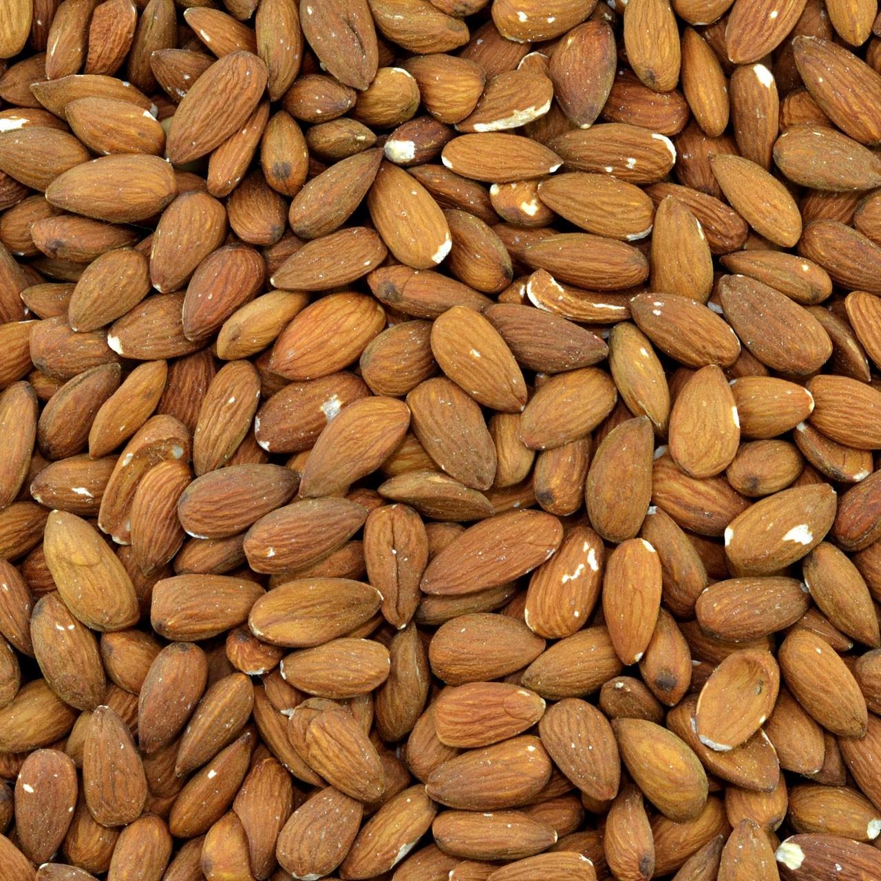 Bruine amandelen (gebakken)