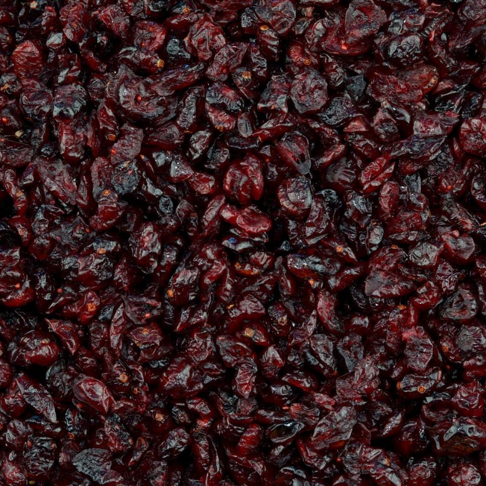 Biologische Cranberries met appeldiksap