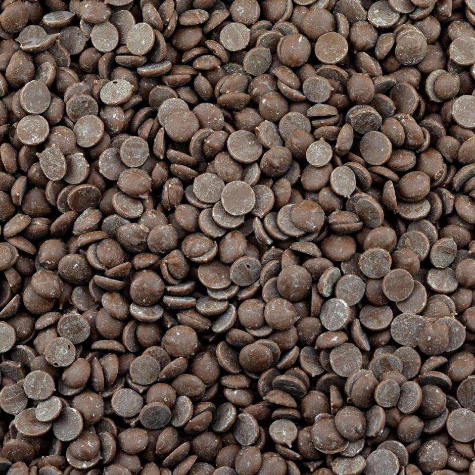 Biologische chocolade druppels Melk