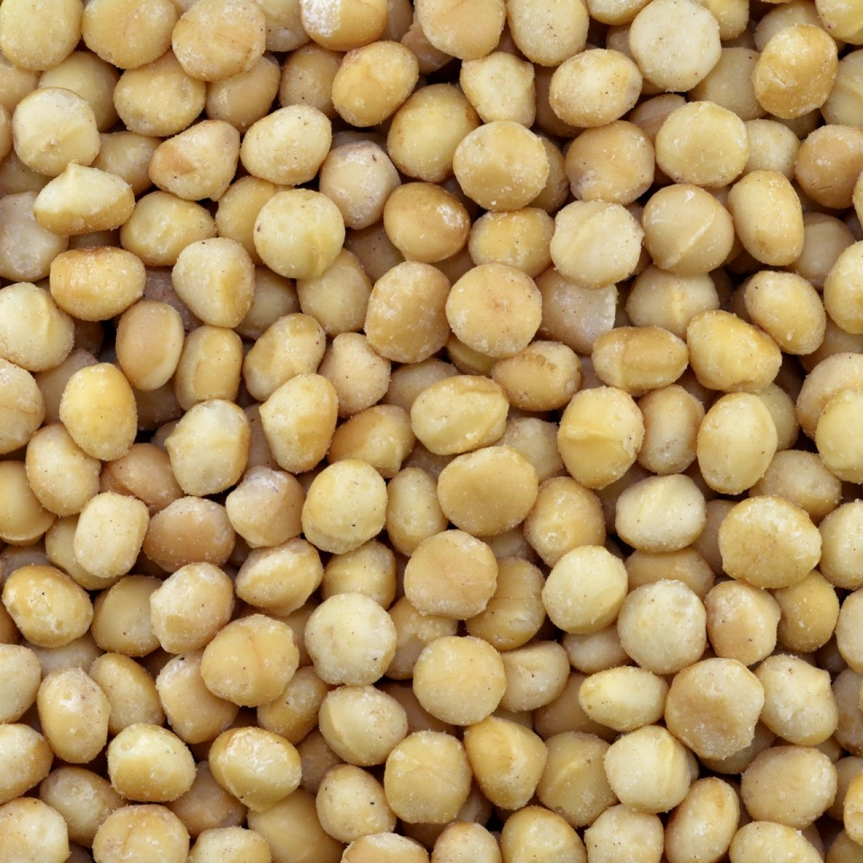 Biologische Macadamia noten (geroosterd)