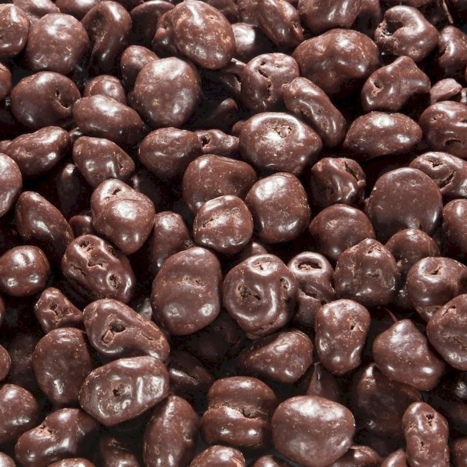Biologische chocolade rozijnen puur