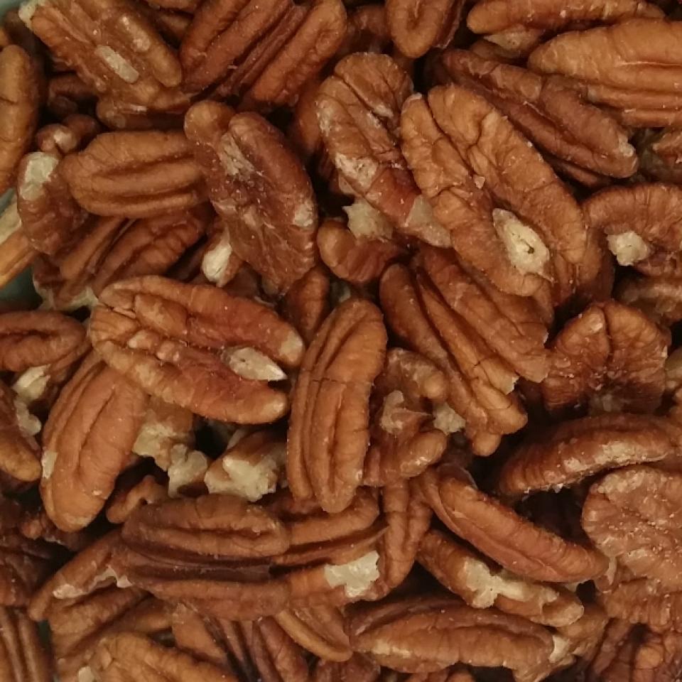 Pecannoten (gebakken)