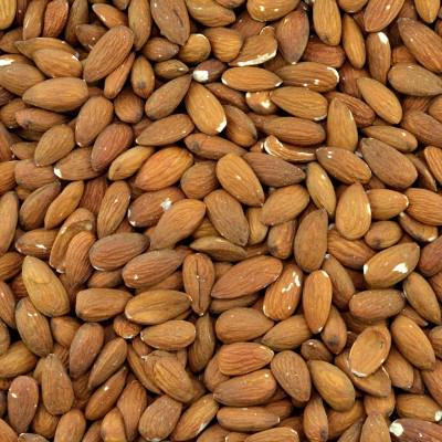 Biologische bruine amandelen (geroosterd)
