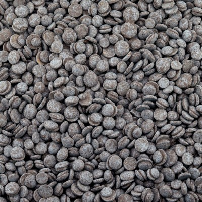 Biologische chocolade druppels puur 70% cacao