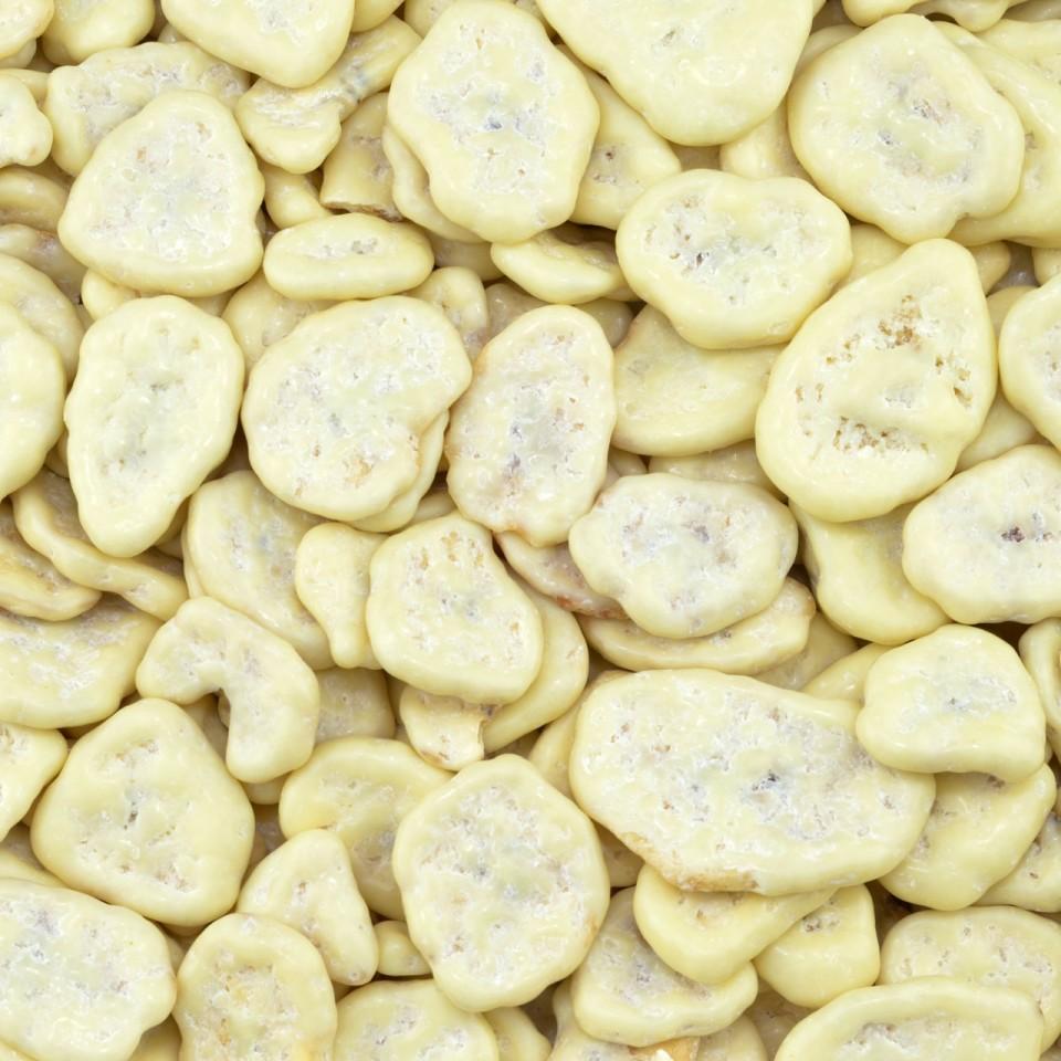 Chocolade bananen chips yoghurt